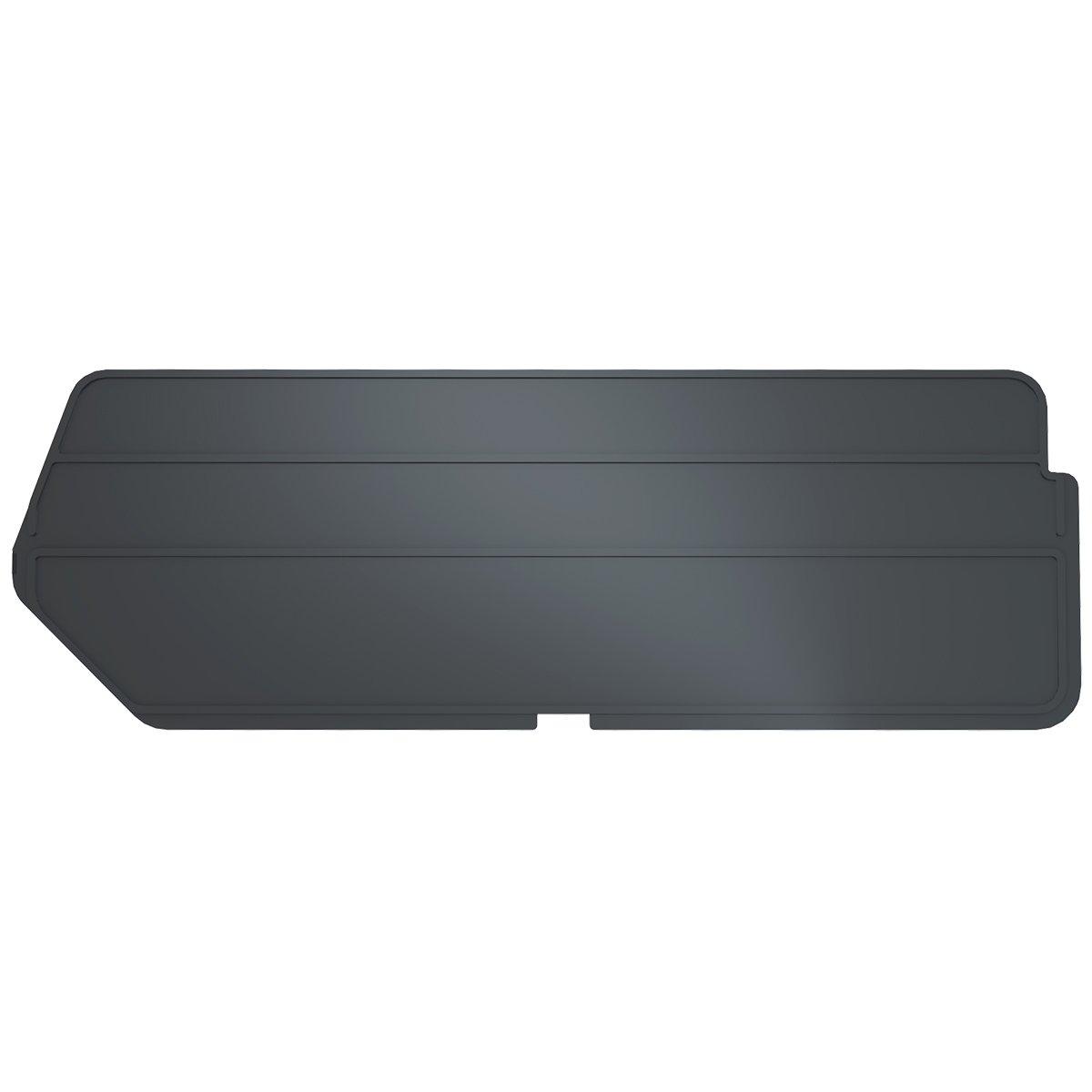 Akro-Mils 40224 Lengthwise Divider for 30224 AkroBin, Black, 6-Pack