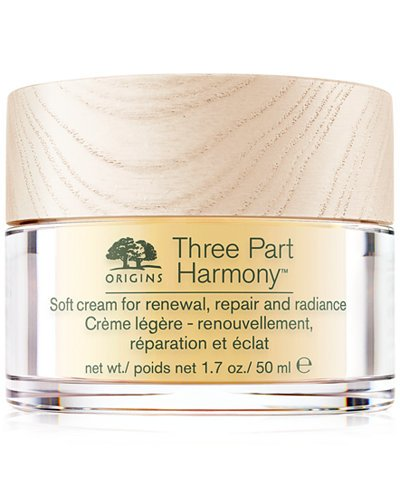 Origins Three Part Harmony Soft Cream for Renewal, Replenishment and Radiance 50 ml