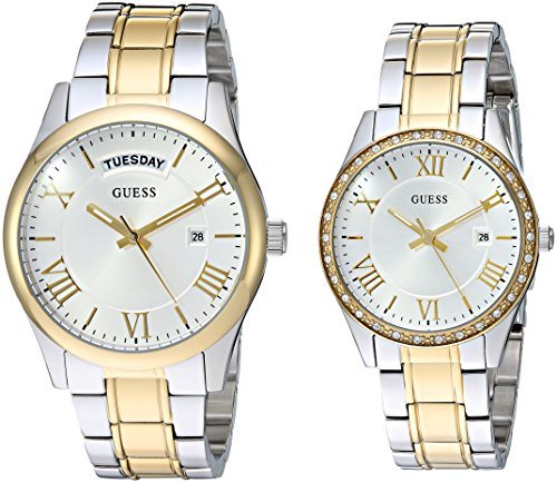 GUESS His and Her Matching Watches Set