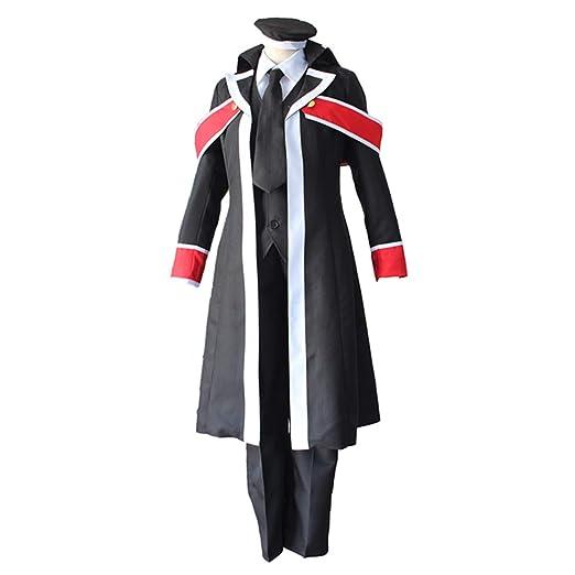 YKJ Disfraz de Cosplay de Anime Earth Black Teacher Deacon Dress ...