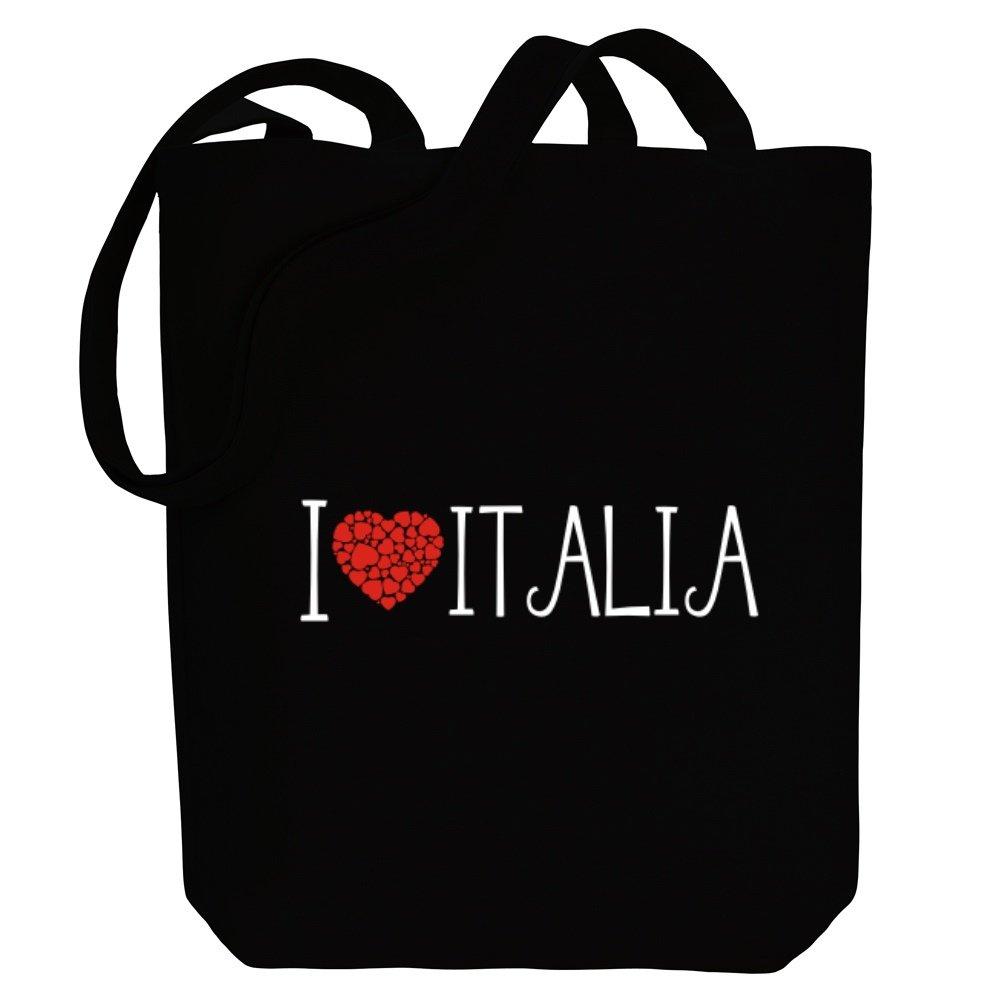 Idakoos - I love Italia cool style - Female Names - Canvas Tote Bag