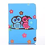 """Universal 7""""inch Cover,Huawei Mediapad T1 7.0 Case,case for 7""""inch Tablet Android,Huawei MediaPad T1 / Honor T1 7.0-Inch Case,PU Leather Standing Cover For 7"""" Huawei MediaPad T1 7.0 Android Tablet"""