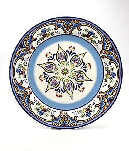 Euro Ceramica Zanzibar 16 Piece Dinnerware Set, Multicolor