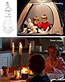 Flyhoom 180LM Rechargeable Camping Light Bulb