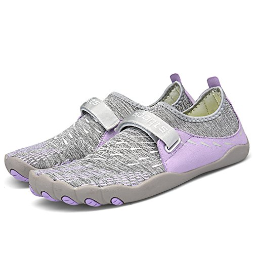Beach Aqua TORISKY Yoga 46 Gym Bath Swimming 36 Sports Shoes Women Purple Men Snorkeling rXrwqxfE