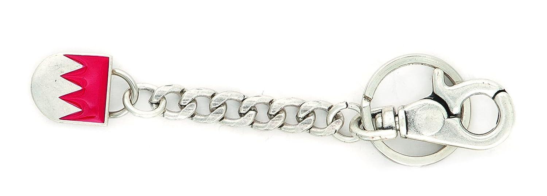 Schlüsselanhänger Charivari - fränkischer Rechen silber - Geschenk passend zur Tracht für Wiesn Volksfest Oktoberfest