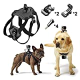 Best GoPro for dog - Pieviev Dog Harness Chest Strap Mount Gopro Fetch Review