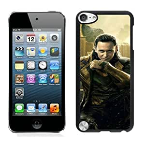 Beautiful Designed Case With Loki Asgard Black For iPod Touch 5 Phone Case