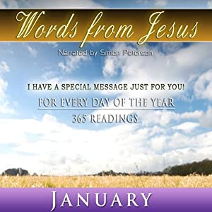 Words from Jesus: January Audiobook