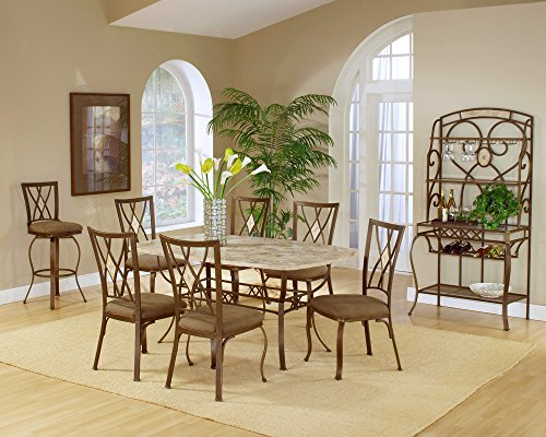 Hillsdale Brookside 5-Piece Rectangle Dining Set with Diamond Back Chairs