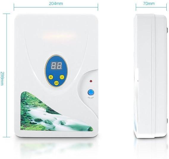D&F Ozonator Ozone Generator - Purificador De Aire | Esterilizador Más Limpio para Agua, Verduras, Frutas Y Más600 ...
