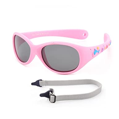 af60e482e2bfb Amazon.com  JUSLINK Baby Sunglasses with Strap