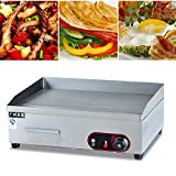 3000W Electric Griddle Flat Top Commercial Restaurant Grill BBQ Appliances