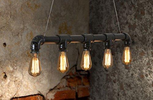 Lightess u lampada a sospensione in stile vintage industriale