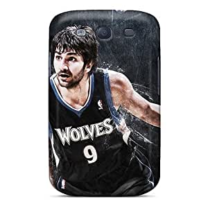 Anti-scratch And Shatterproof Ricky Rubio Phone Case For Galaxy S3/ High Quality Tpu Case