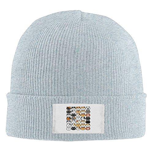 unisex-neko-atsume-many-primary-cats-beanie-cap-fleece-cap-knit-hat