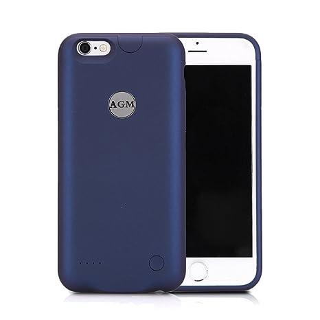 Funda Batería iphone 6 / iphone 6s, AGM Funda protectora cargador ultra fina 2500mAh carcasa cargador externa recargable para iPhone 6 / 6s 4.7