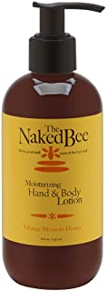 product image for The Naked Bee Moisturizing Hand & Body Lotion, 8 Ounce, Orange Blossom Honey