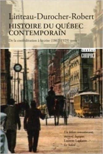 En ligne téléchargement Histoire du Québec contemporain pdf