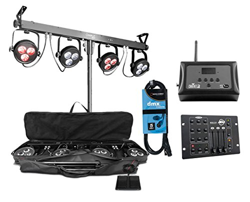 Chauvet 4Bar Led Wash Light System - 8