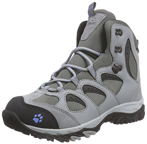 Jack Wolfskin Mountain Storm Texapore Mid, Scarpe da Escursionismo Donna Grau (Air Blue 1095)