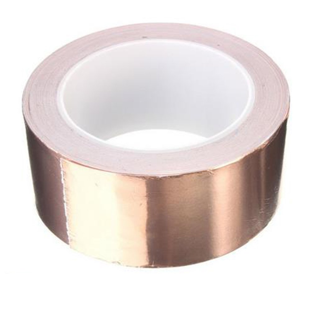 Crafts Electrical Repairs Slug Repellent 2 Pack eBoot 1// 4 Inch Copper Foil Tape with Dual Conductive Adhesive 21.8 Yards for EMI Shielding