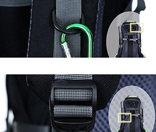 HWLXBB Outdoor Bergsteigen Tasche 65L Anti-Spritzwasser Wasser Reise Reise Bergsteigen Rucksack Männer und Frauen Walking Bergsteigen Tasche ( Farbe : 1* )