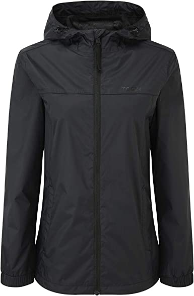 windproof and breathable TOG 24 Craven Womens Zip Up Packable Lightweight Waterproof Jacket with Hood