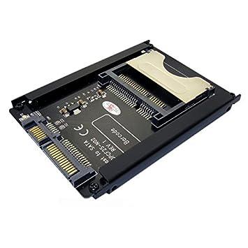 Cablecc - Adaptador de tarjeta SATA de 22 pines a CFast de 2 ...