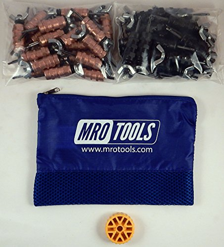 50 1/8 & 50 5/32 Standard Wing-Nut Cleco Fastener w HBHT Tool & Bag (KWN4S100-2) by MRO Tools Cleco Fasteners