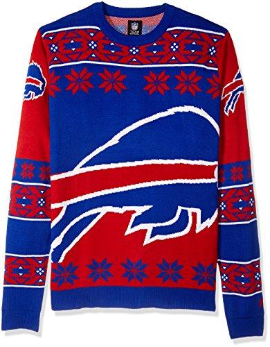 Klew Ugly Sweater Buffalo Bills, X-Large