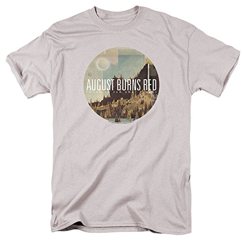 August Burns Red Far Away Places Unisex Adult T Shirt for Men and Women, Large