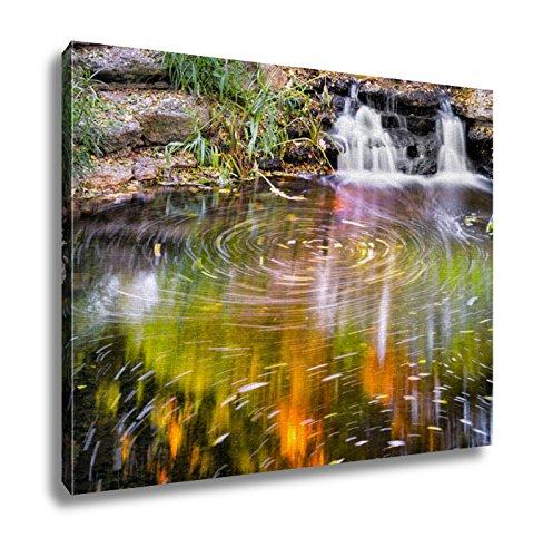 Ashley Canvas, Dancing Leaves Fort Worth Botanical Gardens, 24x30