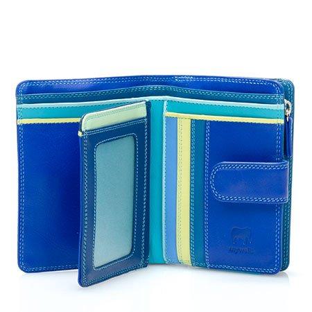 mywalit Medium 10 C/C Wallet w/Zip Purse 390 (Seascape)