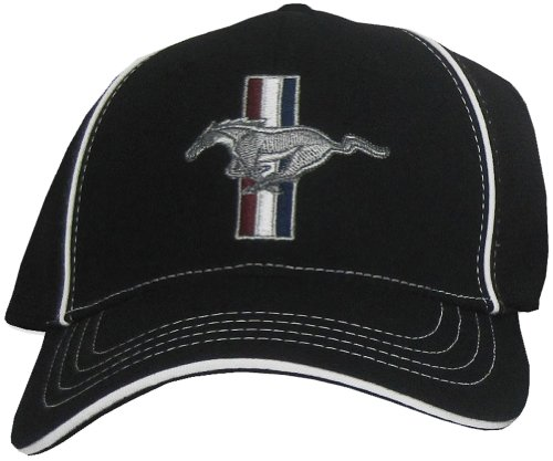 ford-mustang-gt-fitted-flexfit-fine-embroidered-hat-cap-black