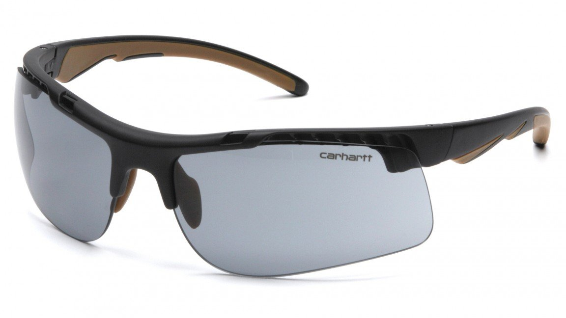 Carhartt Rockwood Safety Sunglasses with Gray Anti-fog Lens