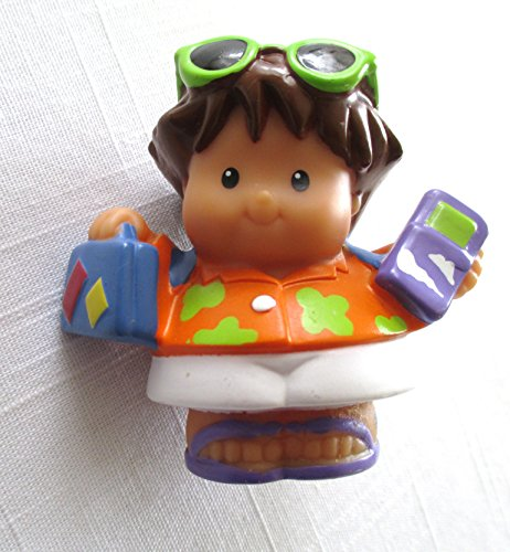 Little People Male Tourist 2005 Mattel Replacement Figure – Fisher Price Zoo Doll Circus Ark Toy Pet Shop (Fisher Price Little People Circus)
