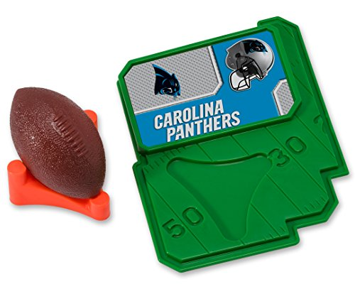 - CAKEMAKE NFL Football & Tee, Cake Topper, Carolina Panthers