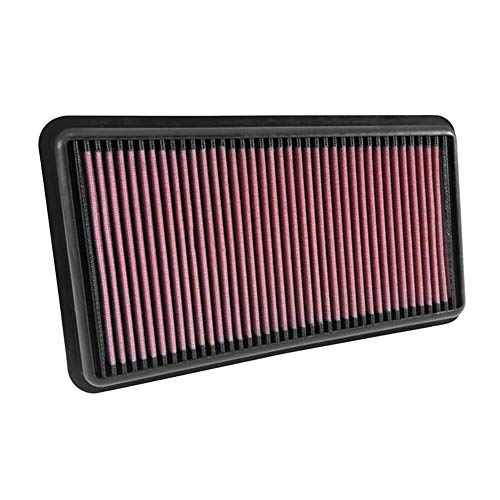 K&N engine air filter, washable and reusable:  2015-2019 Hyundai/Kia L4 (Sonata, Sonata Hybrid, Optima, Optima Hybrid, Cadenza, K5, K7) - 4 Hyundai Cylinder Sonata
