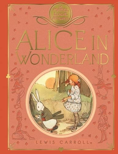 Book cover for Alice in Wonderland