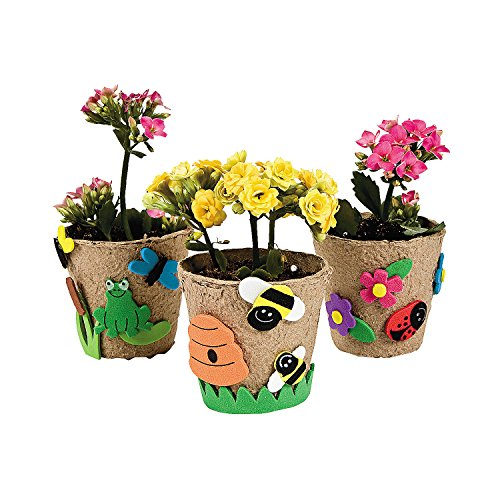 Garden Pot Craft Kit 12 Kits