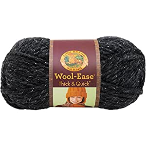 Lion 640-303 Wool-Ease Thick & Quick Yarn, 97 Meters, Constellation