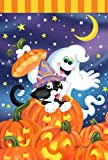 Toland Home Garden Witch Kitty 28 x 40-Inch Decorative USA-Produced House Flag