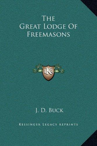 The Great Lodge of Freemasons pdf