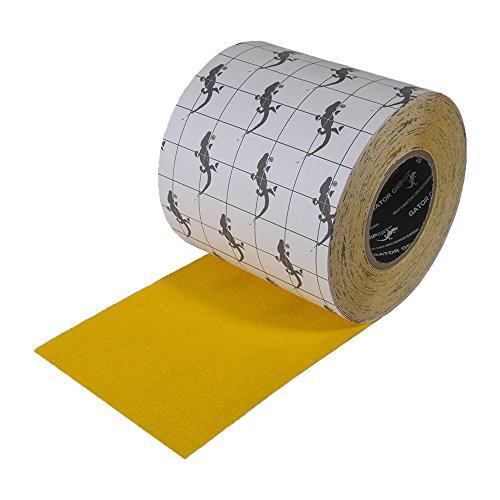 "Incom Gator Grip: Anti-Slip Tape, 6"" x 60', Yellow"