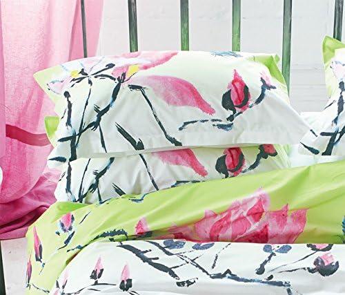 Designers Guild Madame Butterfly Funda de Almohada algodón/percal ...