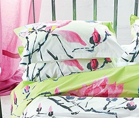 Designers Guild Madame Butterfly Funda de Almohada algodón/percal de algodón Lime 70 x 50 cm: Amazon.es: Hogar
