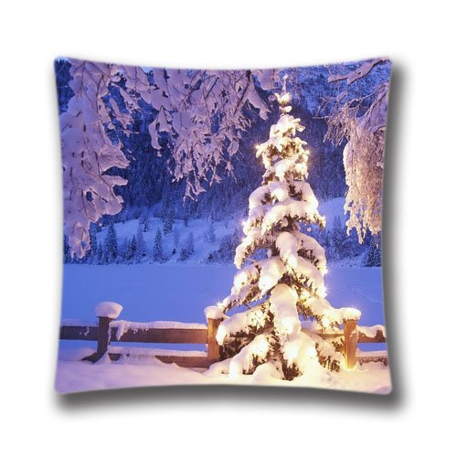 Christmas Theme Throw Pillowcase Christmas Merry Christmas Pillow Covers Merry Christmas Cotton Linen 18