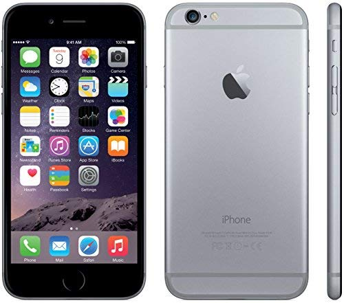 Apple iPhone 6, GSM Unlocked, 32GB - Space Gray (Renewed) (Best Accessories For Iphone 6s In India)