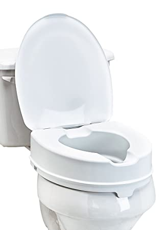 Pleasant Amazon Com Toilet Seat Riser With Lid One Color One Size Uwap Interior Chair Design Uwaporg